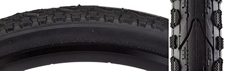 Sunlite Kahn Hybrid Tires, 700 x 50, Black Black by SunLite