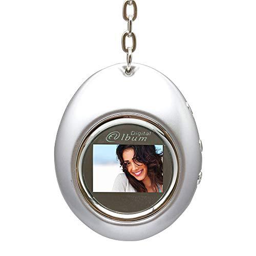 Porta-Retratos Digital com LCD de 1.1'' e Relógio em Formato de Chaveiro, D-Concepts, Porta-Retratos Digitais