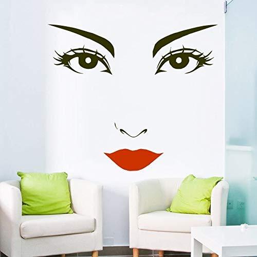 Frauen Gesicht Clip Art, Schnitt, Wimpern Frau Gesicht Clip Art Dekoration, Purpur Chip 57x48cm
