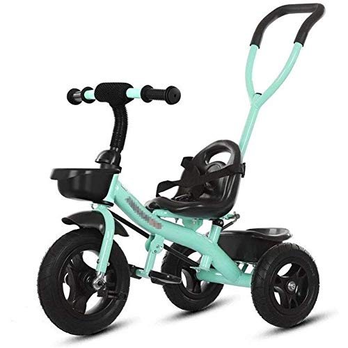 Check Out This AZZ Trike Kids' Tricycles,Tricycle with Putter Baby Stroller Children Bicycle,Kids To...