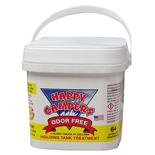 HAPPY CAMPERS RV Holding Tank Treatment - 64 Treatments