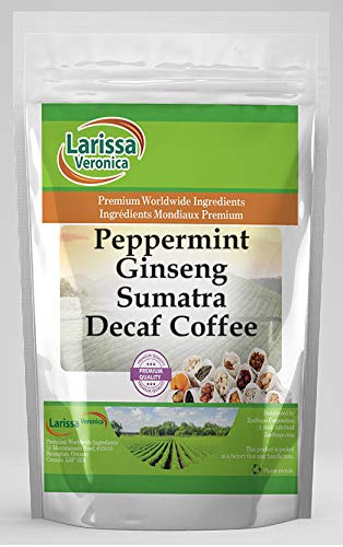 Special Campaign Peppermint In stock Ginseng Sumatra Decaf Naturally Coffee Flav Gourmet