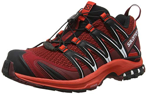 Salomon XA Pro 3D, Zapatillas de Trail Running Hombre, Rojo (Red Dalhia/Fiery...