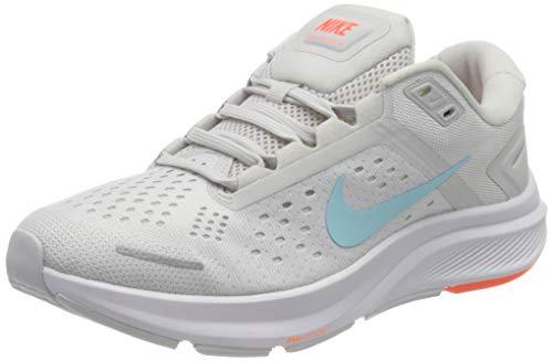 Nike W Air Zoom Structure 23, Zapatillas para Correr Mujer, Summit White Glacier Ice Vast Grey, 39 EU