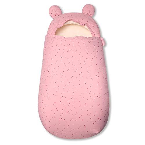 Baby slaapzak 3 Tog kinderwagen slaapzak pasgeborenen voetenzak 0-6 Maanden roze ster