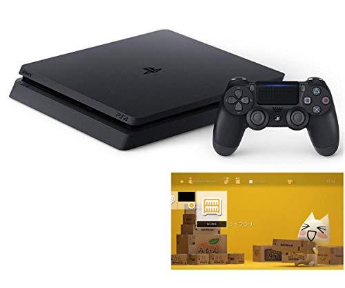 PlayStation 4 ジェット・ブラック 500GB 【特別販売用】【Amazon.co.jp限定】 オリジナルカスタムテーマ (配信)