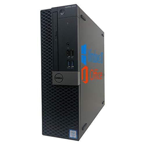 DELL デスクトップPC 5050 SFF【Microsoft Office2019&Win10 (64bit)搭載】 第6世代Core i5(6500) 3.20GHz/メモリ16GB/SSD240GB+HDD500GB /DVD-ROM/HDMI/Display Port/D-sub15ピン/ライン出力/USB 3.1 /回復メディア付/ (整備済み品)
