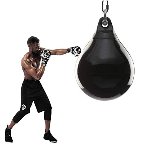 CXSMKP Sanda Erwachsene Wasser Boxen Boxsack, Vertikale Suspension Wasser Injektion Taekwondo Boxsandsack, Schwer Boxen Ausbildung Sandsack, Echtes Gefühl Billig