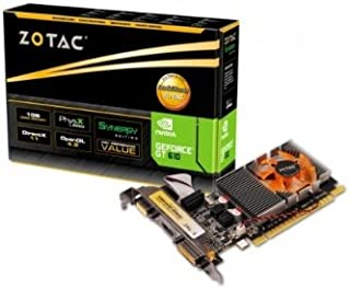 ZOTAC NVIDIA GeForce GT610 搭載グラフィックカード GT610 SyNERGY Edition 1GB DDR3 ZTGT610-1GD3R001