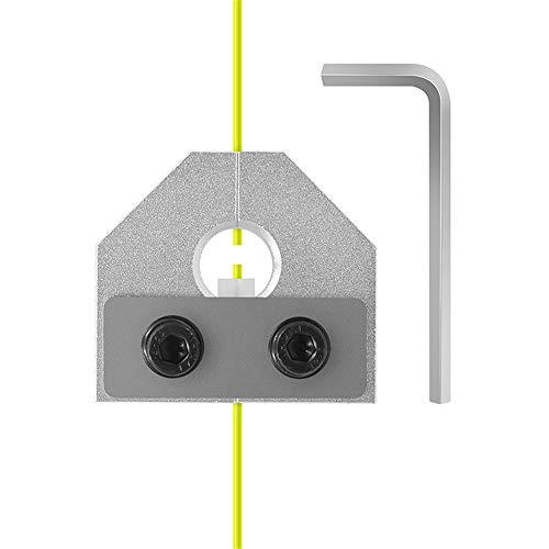 Piezas de La Impresora 3D Conector del Soldador de Filamento, Accesorios de La Impresora 3D Consumibles Conectores Con Llave PLA Varios Consumibles 1.75Mm PLA Sensor de Filamento ABS (Silver)