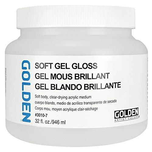 Goldene 0003010-7 32 Unzen - 946ml - Gloss Soft Gel - Medium