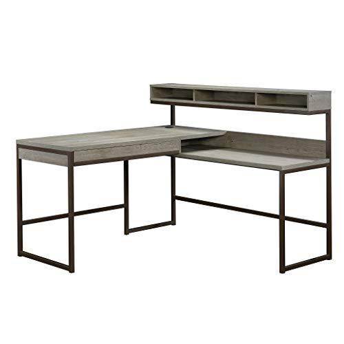 Sauder Manhattan Gate L-Shaped Desk, Mystic Oak finish -  Sauder Woodworking, 423446