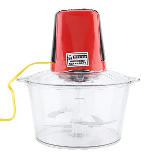 Multifunctionele elektrische shreddermachine, multifunctionele elektrische vleesmolenmolen Worstmaker Keukenmachine 3L voor fruit, groenten, kaas en fruitsmoothie