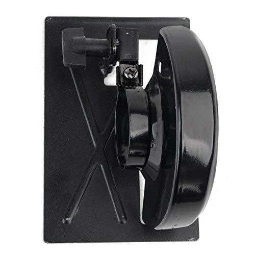 Nologo WJW-MUGONGJU, 1set Einstellbare Winkelschleifer Metall Gleichgewicht Stand Halter Unterstützungsbasis mit Abdeckung for Holzbearbeitung Schneidemaschine Power Tools (Size : 11.3 x 8.2cm)
