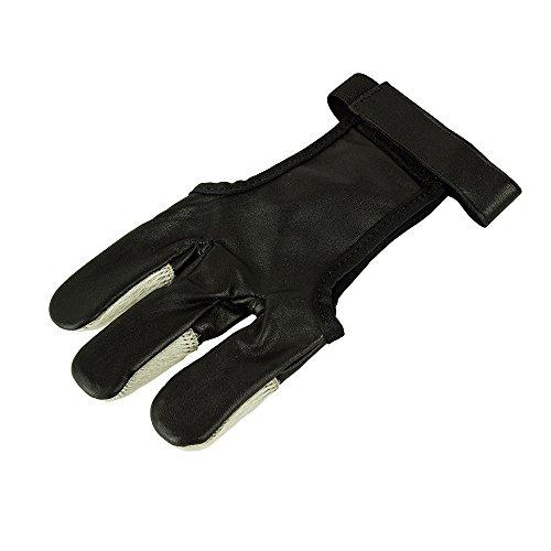 eltoro Hair Glove black and white–5.8087Guante, medium