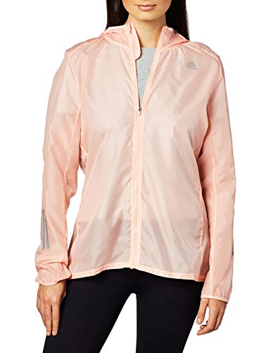adidas Own The Run Jkt, Giacca Sportiva Donna, Rosa, 2XS