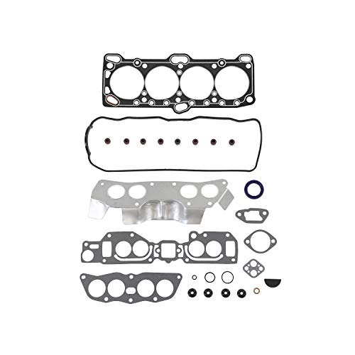 DNJ HGS128 Graphite Head Gasket Set for 1993-1996 / Dodge, Mitsubishi/Mighty Max, Ram 50/2.4L / SOHC / L4 / 8V / 2351cc