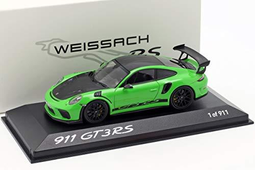 Minichamps Porsche 911 (991) GT3 RS Weissach Package 2018 lizardgrün 1:43