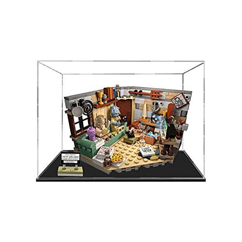 icuanuty Vitrina de Acrílico para Lego Marvel 76200 Avengers Endgame Bro Thors New Asgard, Display Case Vitrinas para Colecciones Modelismo (Solo Vitrina)