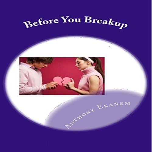 Before You Breakup audiobook cover art