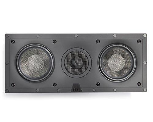 ELAC - Debut IW-DC51-W Custom in-Wall Center Channel Speaker (Ea), Black