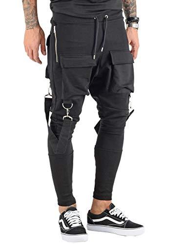 VSCT Clubwear Herren Jogginghosen Front PKT schwarz M