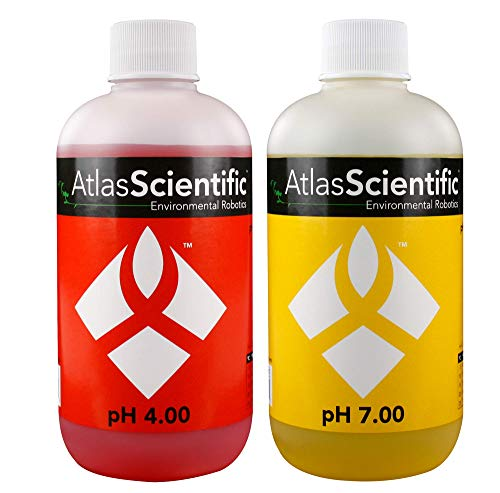 Calibration Solution Test Kit pH 4.0 & 7.0 - For Precise pH Indicator Perfect For Hydroponics, Food Processing, Aquariums, Pools...
