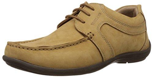 Woodland Men's Camel Formal Shoes - 10 UK/India (44 EU)(GC 0592108Y15_Nubuk)