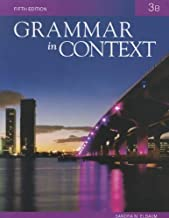 Grammar in Context 3B, 5th Edition by Elbaum, Sandra N. 5th (fifth) Edition [Paperback(2010)]