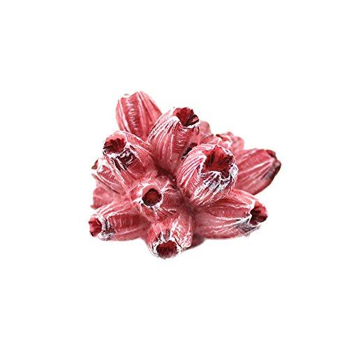 Künstliche Koralle, Seestern, weich, Unterwasser-Deko für Aquarium, Kunstharz, 1#, Einheitsgröße