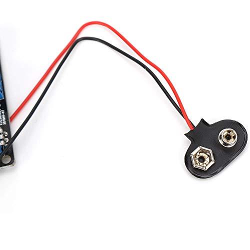 T opiky GM328 Probador de transistores de Pantalla pequeña Terminado Medición de Voltaje de frecuencia Generador PWM Pantalla a Color de 160x128 píxeles, Caracteres de Pantalla Completa 8x20 DC
