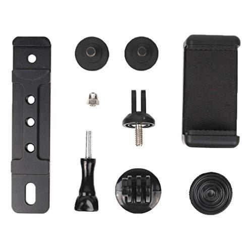 YIQIFEI Für DJI Osmo Plus Verlängerungsarm Adapter Kit Halterung Stabilisator Telefon Monitorhalterung Aluminiumlegierung 4-5,5 Zoll