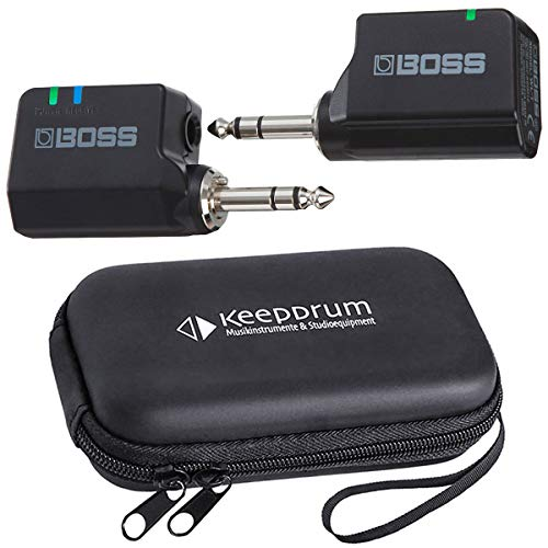 Boss WL-20 Wireless Funk-System für Gitarre + keepdrum Soft-Case