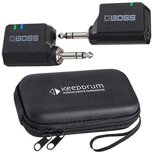 Boss WL-20 Draadloos draadloos systeem voor gitaar + keepdrum soft-case