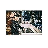 LAJITONG Martin Garrix DJ-Poster, dekoratives Gemälde,