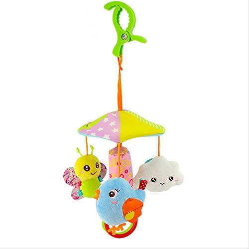 Mryishao Hochet de litBabyspielzeug 0-12 Monate Niedliche Tierrasseln Für Kinderbett Mobile Neugeborene Spielzeug Für Kinderwagen Cart Plüschtier Lernspielzeug