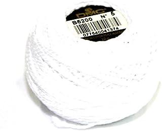 DMC Cotton Perle Thread Size 5 B5200 - per 10 gram ball