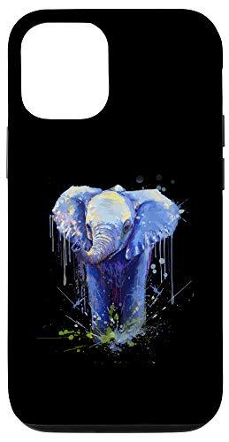 iPhone 12/12 Pro Elephant Artwork - Big Mammal Elephant Artwork Gift Case