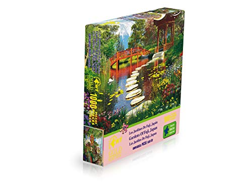 WUUNDENTOY Jigsaw Puzzle Gardens of Fuji, Japan 1,000 Pieces Gold Edition 12+ Years Old (2211)