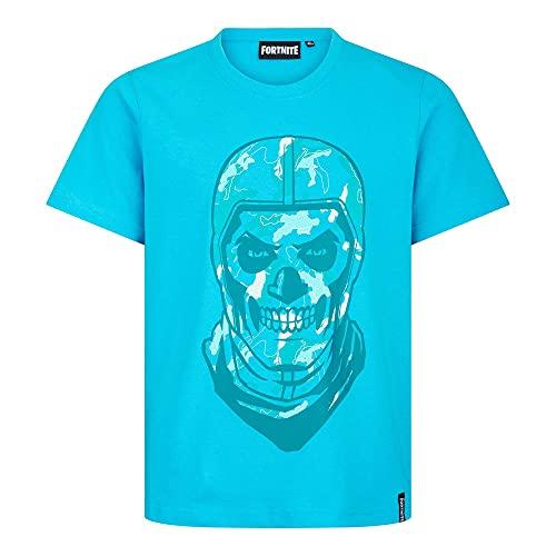Trendiges Fortnite T-Shirt Blau Top Design (164)