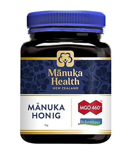 Neuseelandhaus Manuka Honig MGO460+ 1000g (zzgl. 10 Hübner Gratisproben)