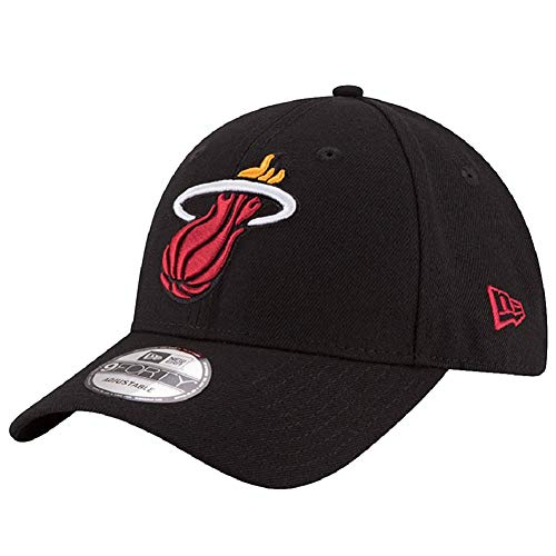 New Era 9Forty NBA The League Team Cap (one Size, Miami Heat)