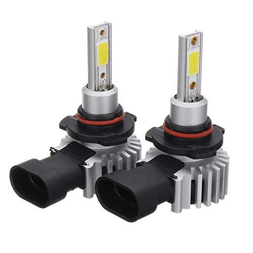 SYLOZ-URG D9 60W 8000LM LED Faros del Coche Lámpara H1 H3 H4 H7 H11 9005 9006 6000K Reemplace el halógeno HID de Xenon URG (Color : 9005/HB3)