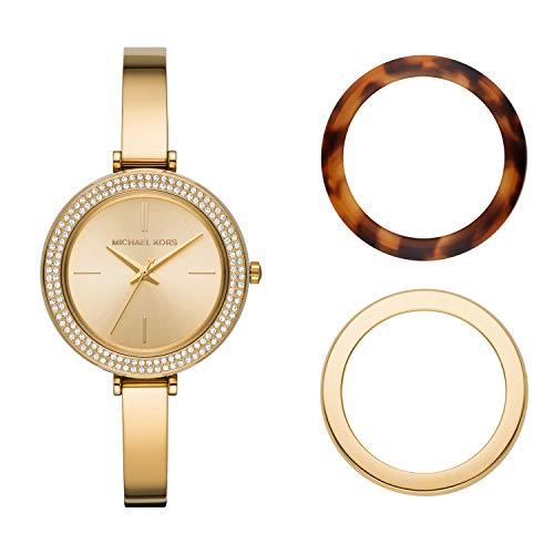 Michael Kors - Reloj de Cuarzo de Acero Inoxidable para Mujer MK4434