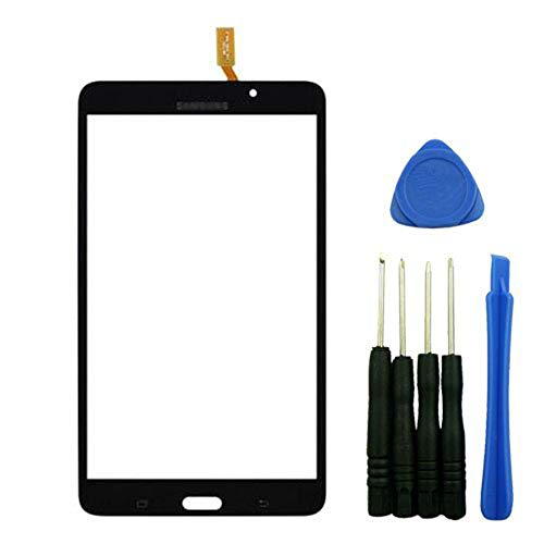 Outer Glass Digitizer Touch Screen Panel Replacement for Samsung Galaxy Tab 4 7.0 T230 Black Wifi Version with Tools