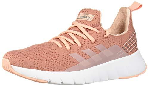 adidas Women's Asweego Running Shoe, raw Pink/Glow Pink/White, 5.5 M US