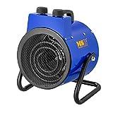 MSW Generatore di Aria Calda Elettrico MSW-TTEH-2000 (2.000 W, Funzione di raffreddamento, 0–85 °C, Portata d'aria 185 m³/h)