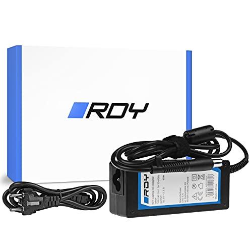 RDY 65W 18.5V 3.5A Laptop Ladegerät Netzteil für HP 250 G1 255 G1 ProBook 450 G2 455 G2 Compaq Presario CQ56 CQ57 CQ58 CQ60 Ladekabel Notebook Stromversorgung Stecker: 7.4 x 5.0mm