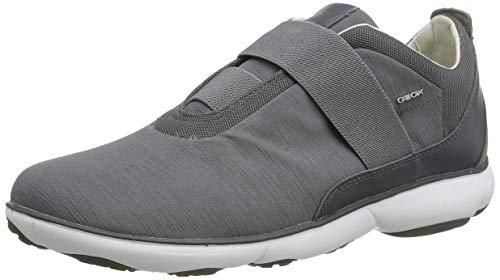 Geox Herren U Nebula C Sneaker, Grau (Grey C1006), 43 EU