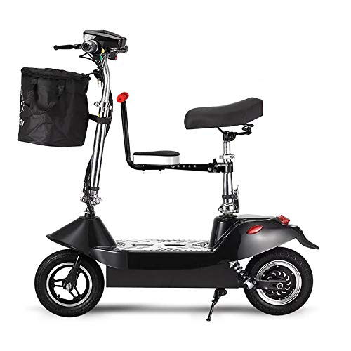 Ddl Scooter eléctrico Plegable de 10 Pulgadas Bicicleta de Dos Ruedas con...